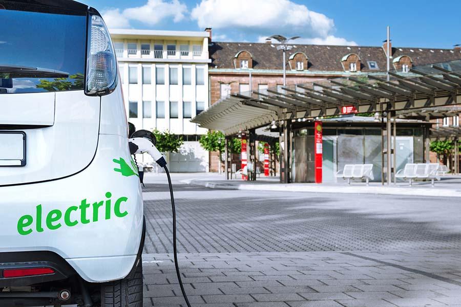 E-Tankstelle, Dech Elektrotechnik München